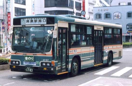 いすゞLV380N 所沢営業所に先行...
