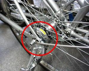 自転車の 自転車 調整 ブレーキ : 内装3段変速では・・・