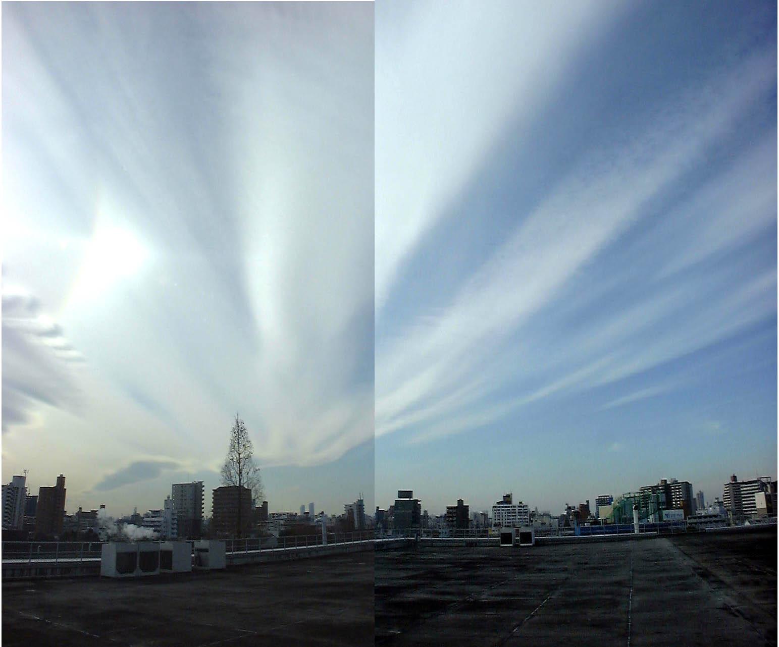 地震雲と地震予測 : 地震を事前に予知! 地震雲の種類 - NAVER まとめ