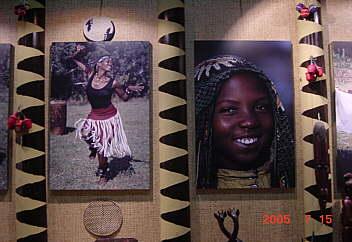 4、「愛・地球博」アフリカ