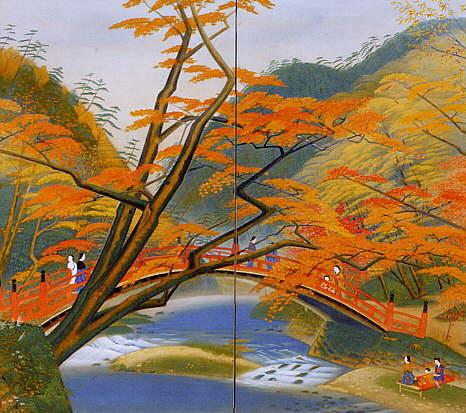 高尾の秋(個人蔵)