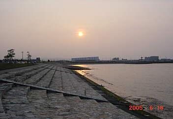 3、ビ−チモデル中央突堤(海老江浜開)
