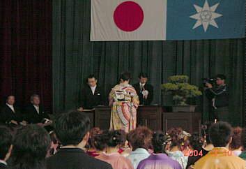 娘が商船卒業。4月から横浜へ、ちょっと寂しくなるね。σ( ̄∇ ̄;)