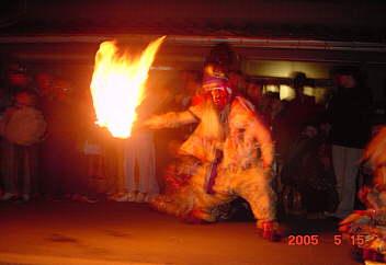1.庄東の獅子舞