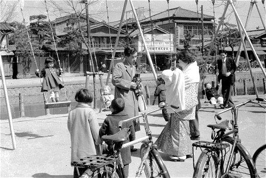 30年(1955年)春 新潟市白山 ...