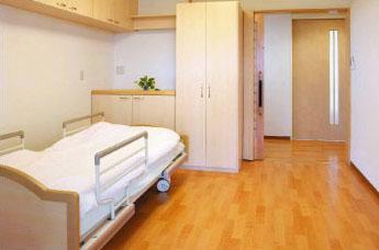 居室は完全個室です