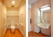 トイレ、洗面ユニット